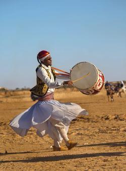 danze tipiche nel deserto di douz