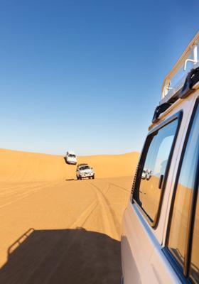 jeep safari deserto di dubai