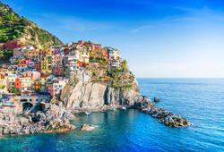 case colorare di manarola cinque terre