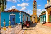 case colorate citta di trinidad cuba