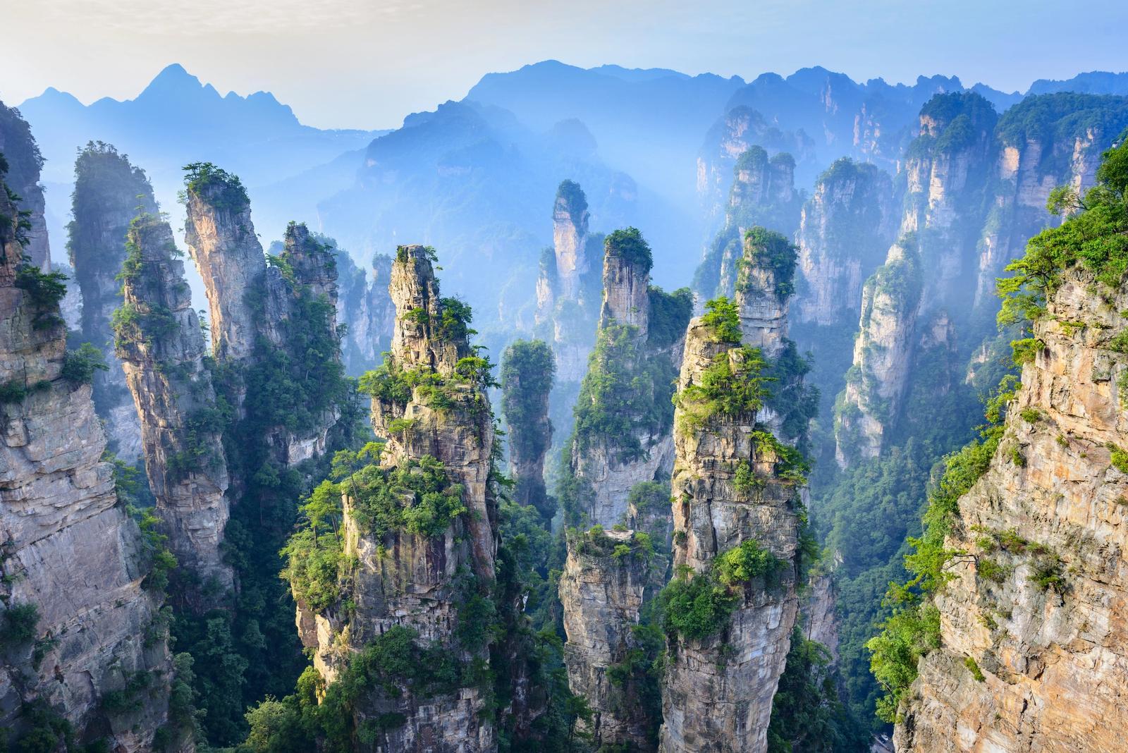 montagne di avatar in cina