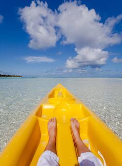 come farsi una foto in kayak