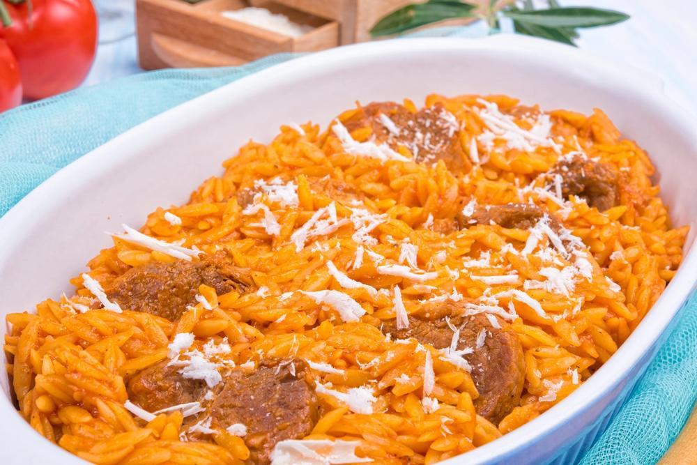 sformato di carne e pasta greco