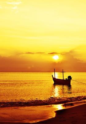 gita in barca al tramonto maldive