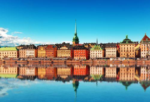 Quartieri e isole di Stoccolma cover