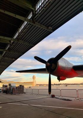 visitare il campo aereo di templhofer