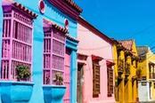 case colorate di cartagena