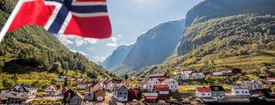 paese in norvegia sui fiordi