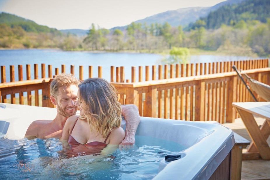 Landal Kielder Waterside Hot Tub