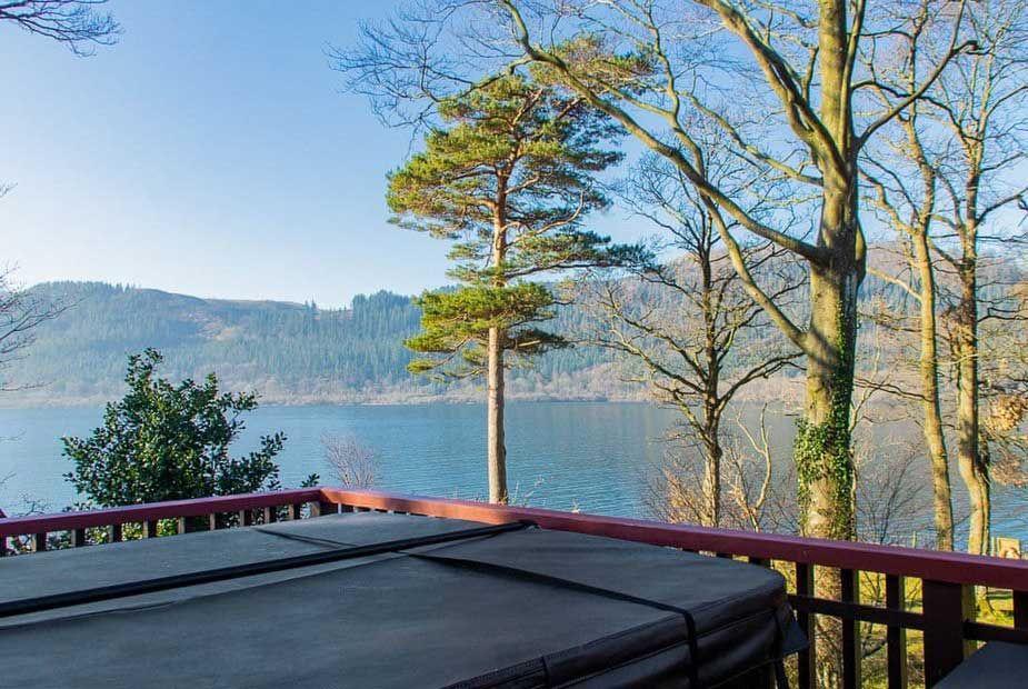 Benthwaite Lakeside Lodges Outdoor Hot Tub