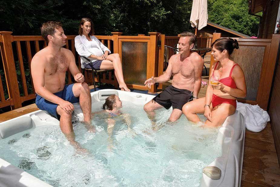 Avon Wood Lodges Cumbria Hot Tub Hideaways