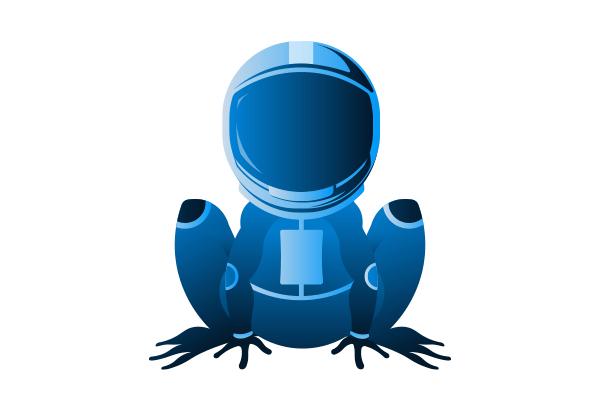 grenouille-spatiale
