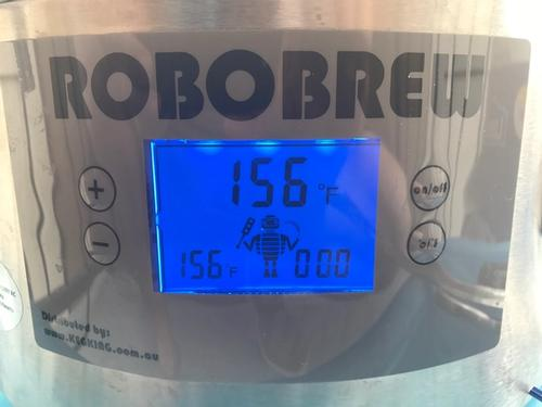 front of the robobrew