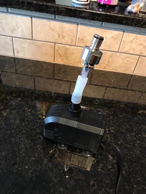 pump setup