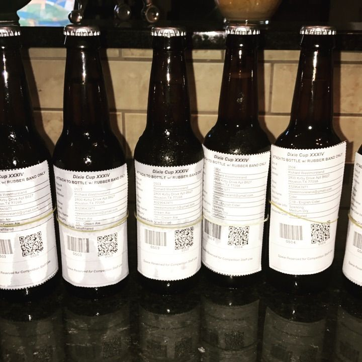 labeled beers