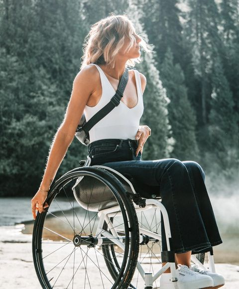 Climate Change Commitments, Woman in Wheelchair