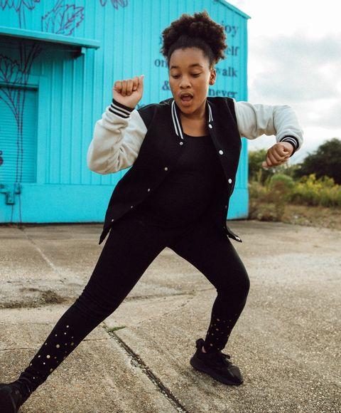 girl dancing, power of movement