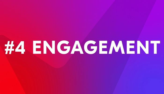 """Video cover image with text """"Engagement"""""""