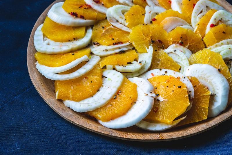 Appelsin og fennikelsalat