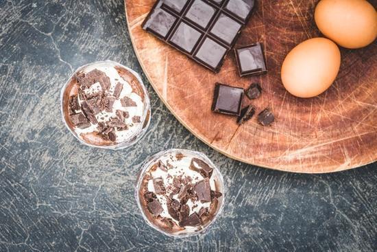 Hjemmelavet chokolademousse