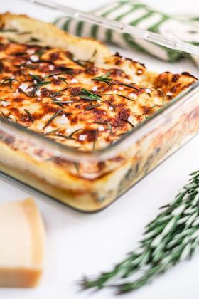 Vegetarisk cannelloni med spinat og sød kartoffel