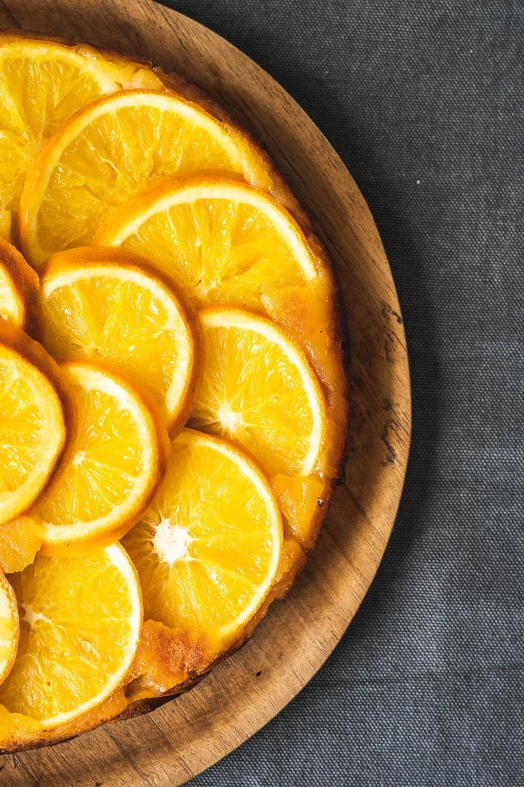 Upside-down appelsinkage