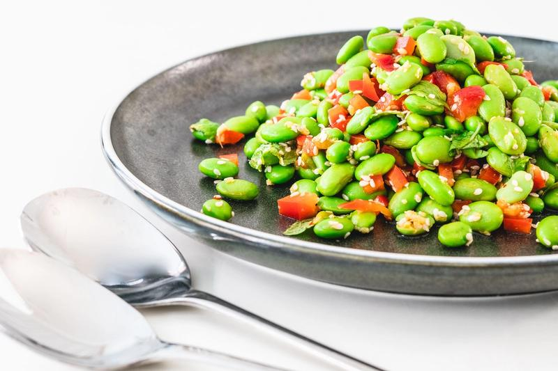 Simpel og frisk edamamesalat