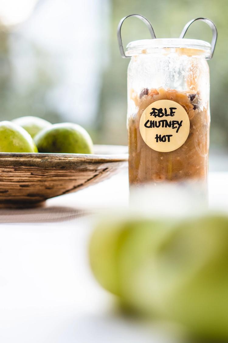 Hjemmelavet æblechutney