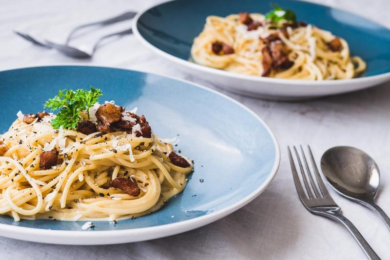 Klassisk spaghetti carbonara