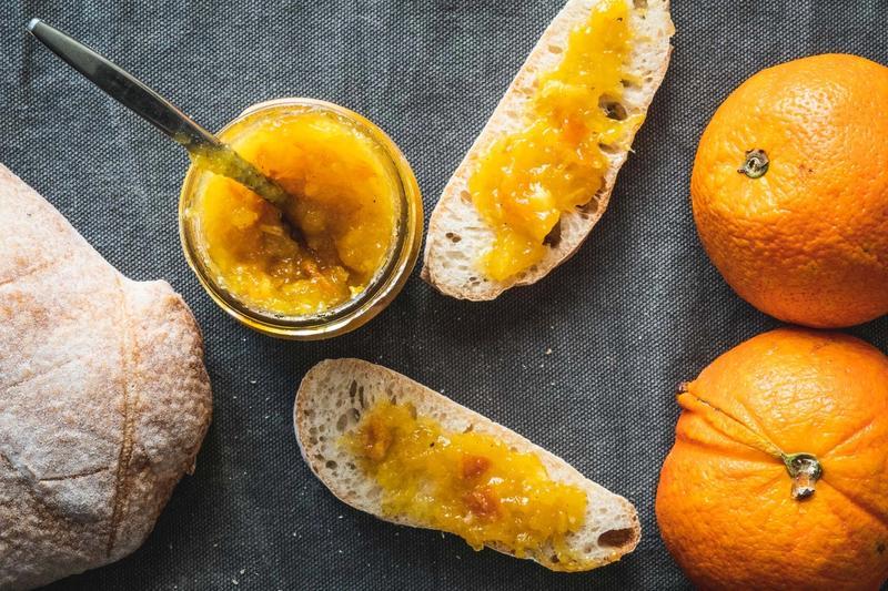 Appelsinmarmelade med kardemomme