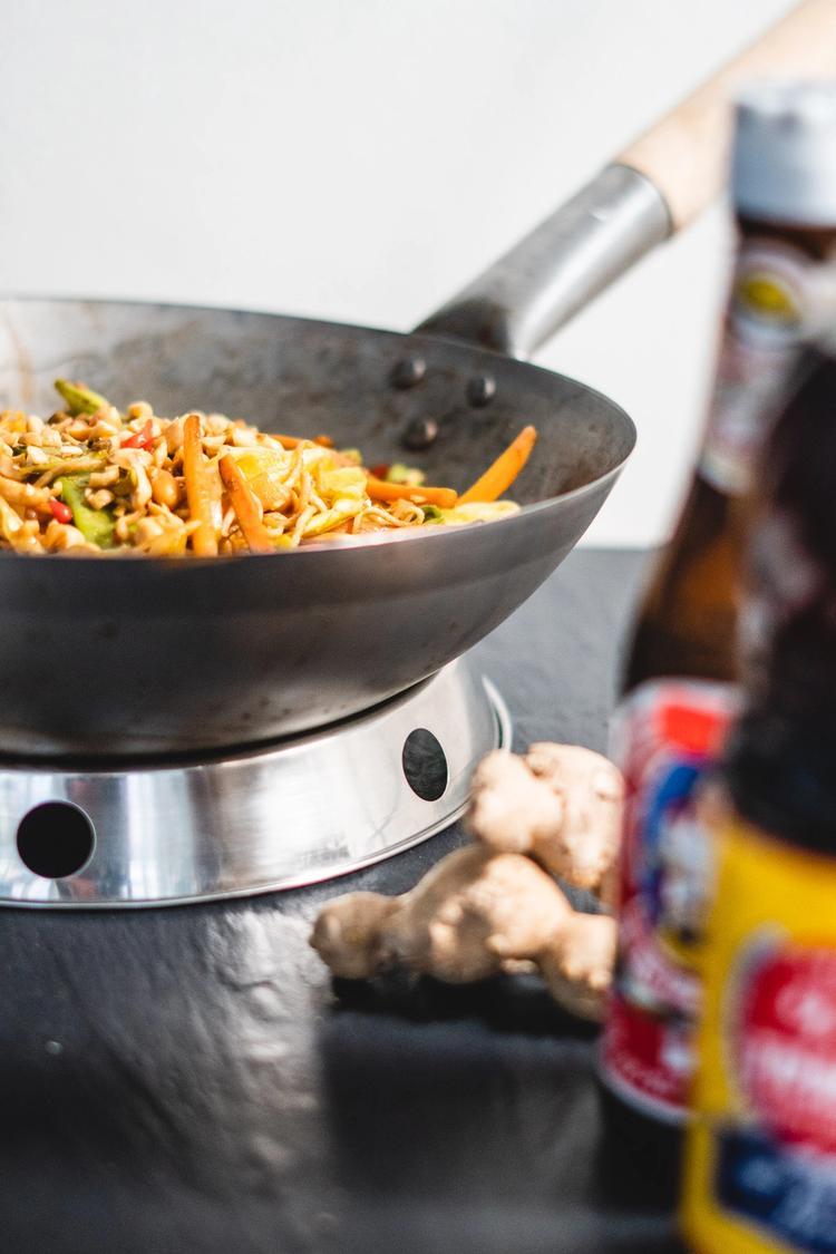 Simpel wok m. slangebønner