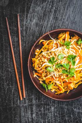 Traditionel pad thai