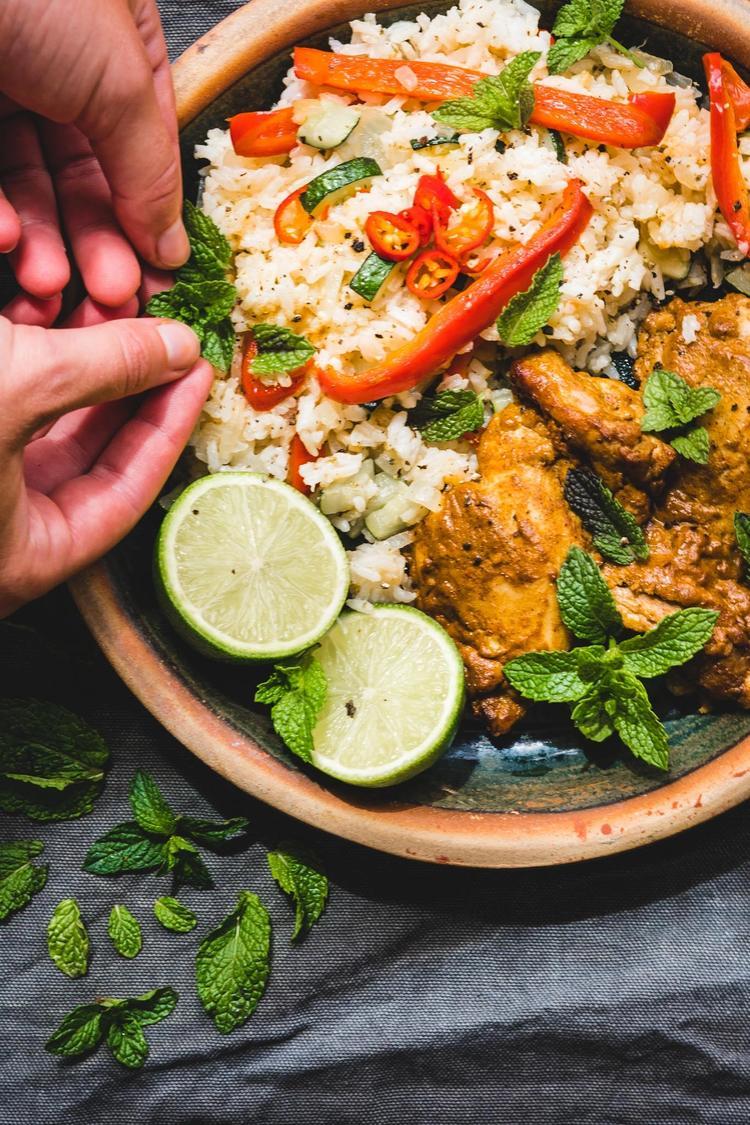 Indisk tandoori kylling