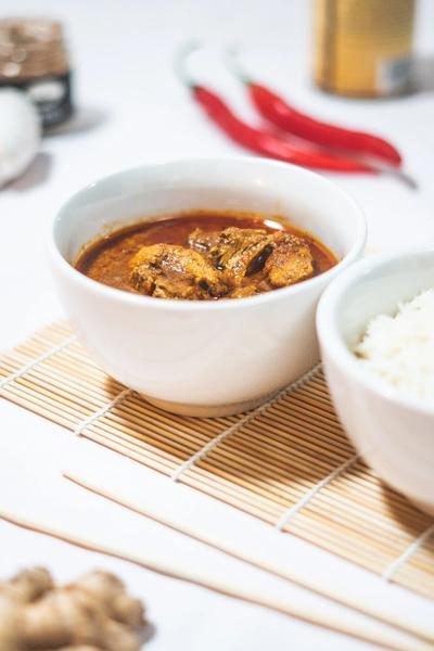 Tikka chicken masala med peberfrugt