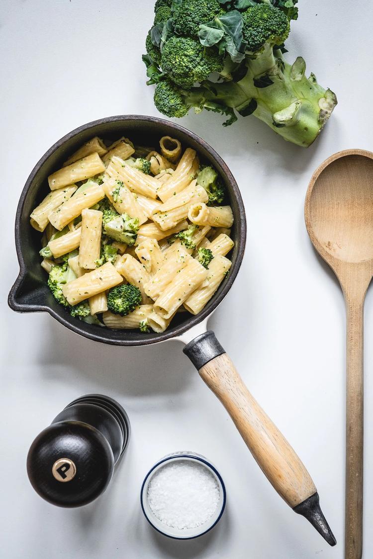 Pasta med broccoli