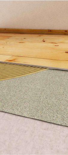 sound proofing floor layers