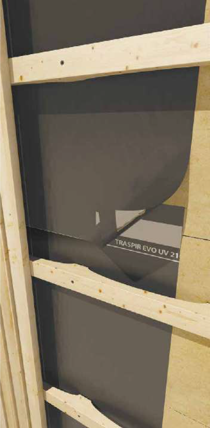 This is an image of Traspir Evo UV 210 wall and roof membrane.