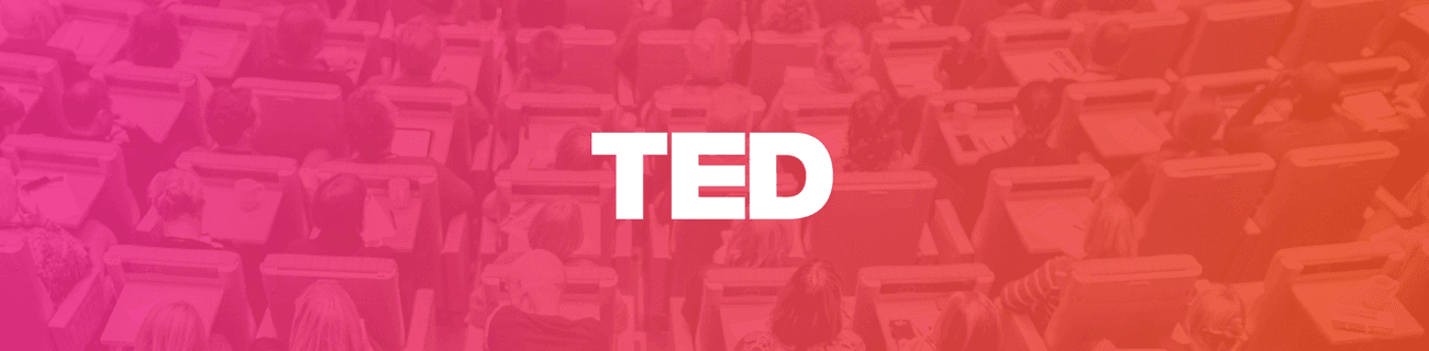 banner for TED