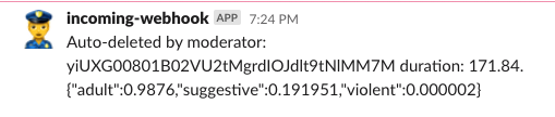 slackbot auto-delete