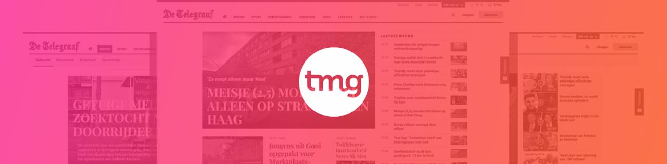 banner for Telegraaf Media Groep N.V. (TMG)