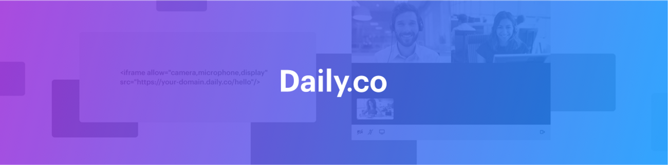 banner for Daily.co