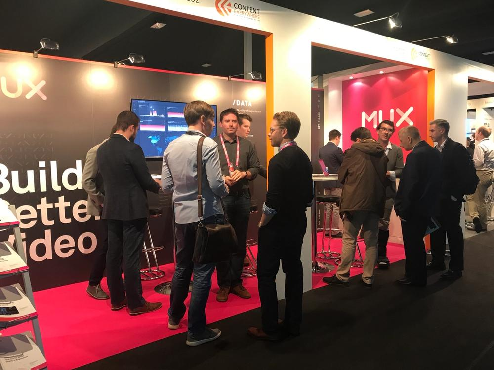 Mux at IBC Amsterdam 2019