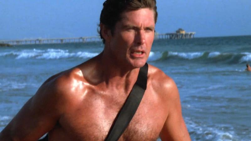 David Hasselhoff lifeguard