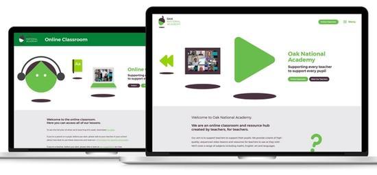 Oak National Academy screen