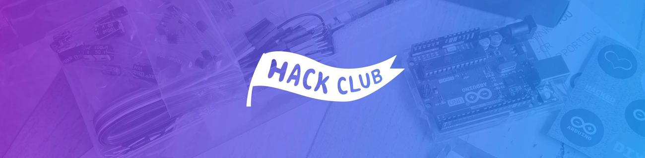 banner for Hack Club