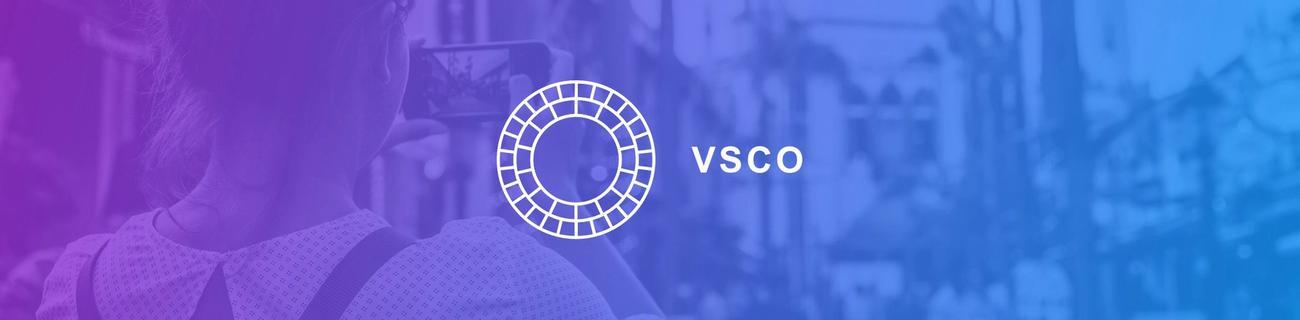 banner for VSCO