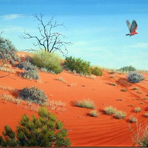 Red Dunescape