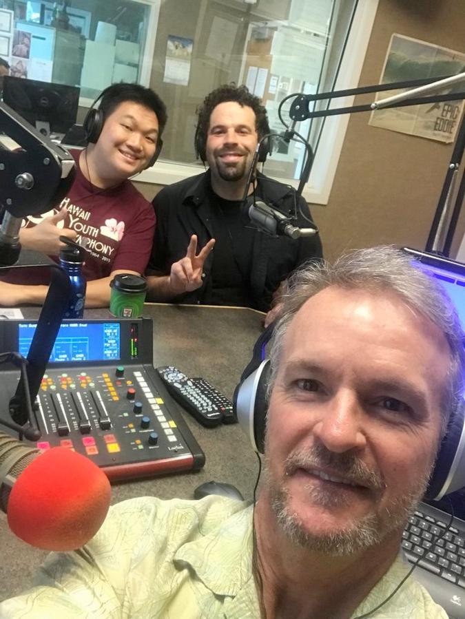 Randy and I interviewed on Design Talk Hawaii