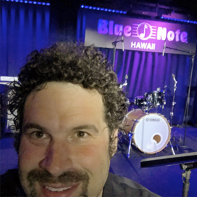 Sitting in at the Blue Note