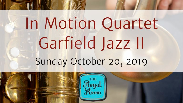 In Motion Quartet @ the Royal Room